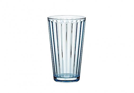 Longdrink-Glas hellblau Lawe