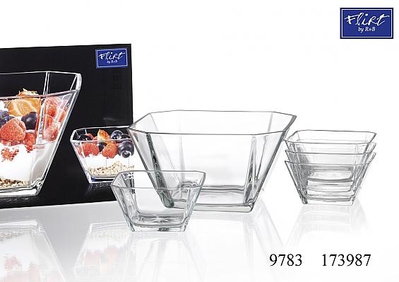 Glasschalen-Set 5tlg. Cantus