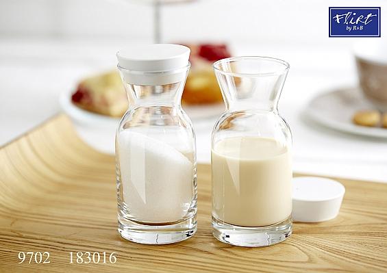 2er-Set Zucker- und Milchkännchen Cascada