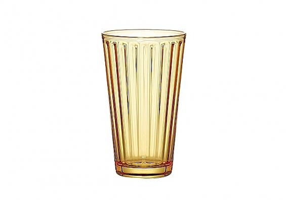 Longdrink-Glas ocker Lawe