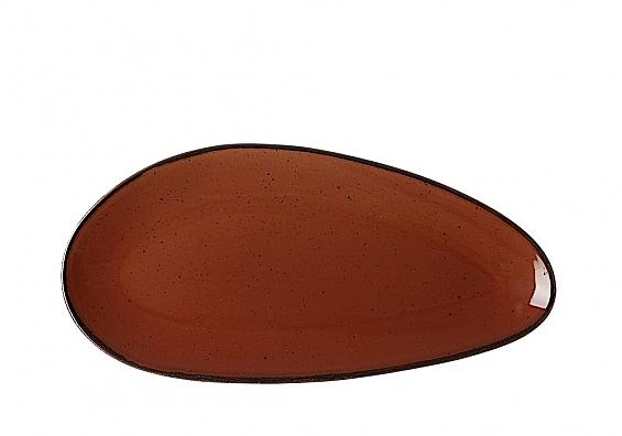Servierplatte groß Taste marron
