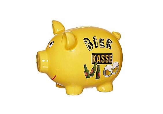 Sparschwein Bierkasse Sparschwein groß Bierkasse