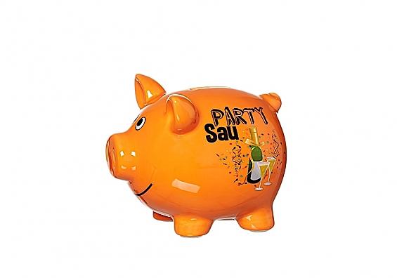 Sparschwein Partysau Sparschwein mittelgroß Partysau