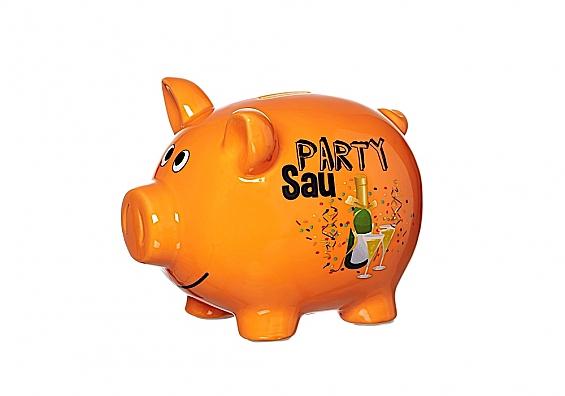 Sparschwein Partysau Sparschwein groß Partysau