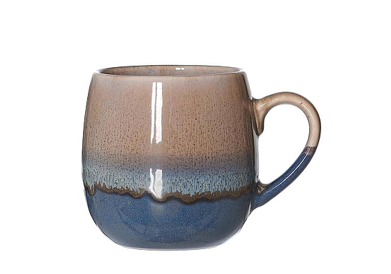 Kaffeebecher Matos braun Kaffeebecher bauchig 450ml