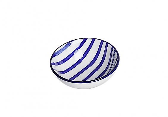 Geschirr-Serie Seaside Streifen Schälchen flach