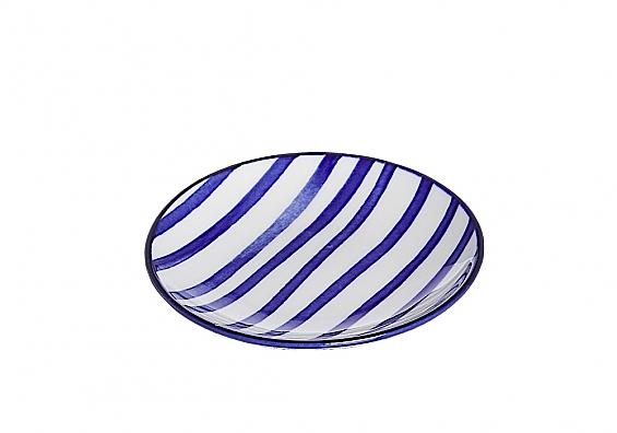 Geschirr-Serie Seaside Streifen Beilagenteller 10cm
