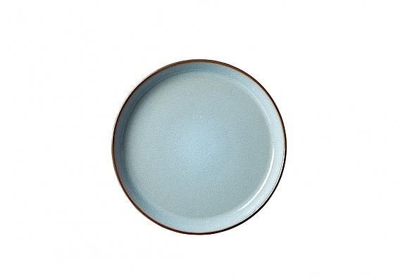 Frühstücksteller Visby hellblau