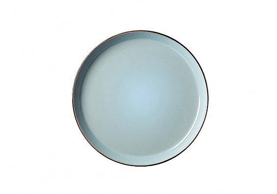 Speiseteller Visby hellblau