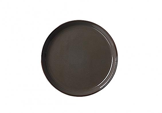 Frühstücksteller Visby dunkelgrau