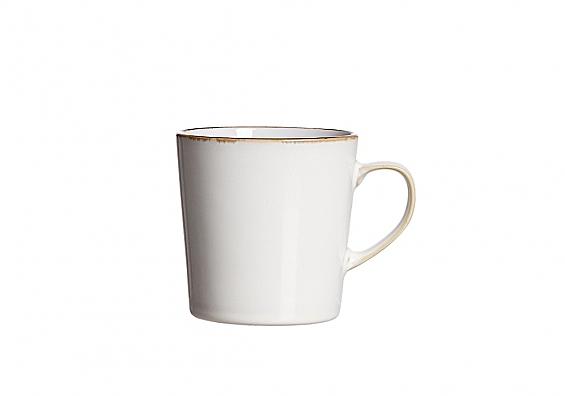 Kaffeebecher Visby weiß