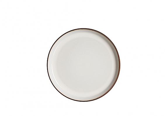 Frühstücksteller Visby weiß
