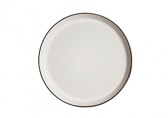 Speiseteller Visby weiß