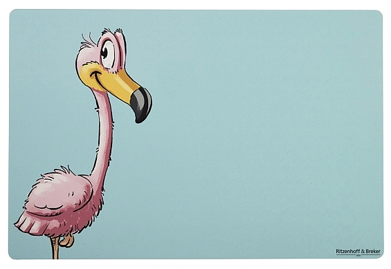 Platzmatte Flamingo Flo