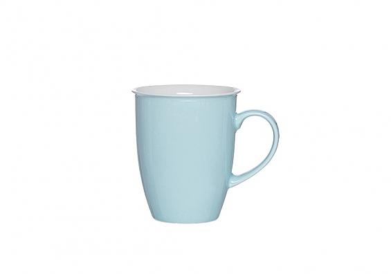 Kaffeebecher Doppio türkis