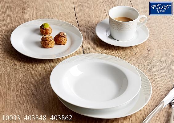 Geschirr-Serie Steps sand Kaffeeservice 18tlg.