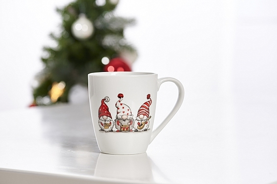 Weihnachtsbecher Troll