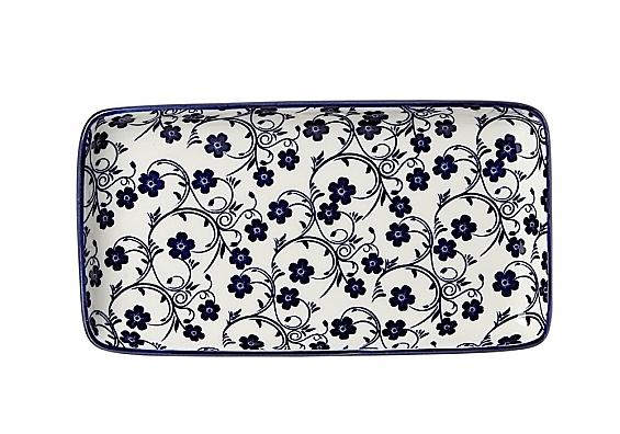 Geschirr-Serie Sakura royal Platte rechteckig