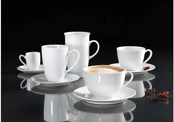 Kaffeegeschirr Bianco