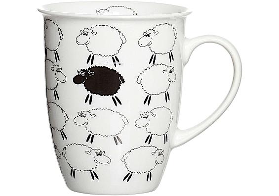Frühstücksgeschirr Funny Sheep 6 Kaffeebecher