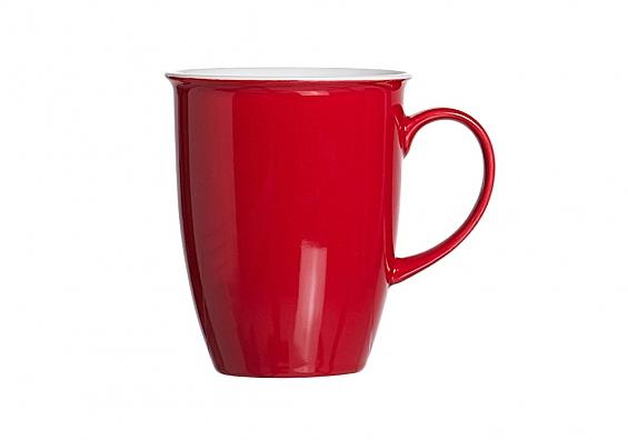 Kaffeebecher Doppio rot
