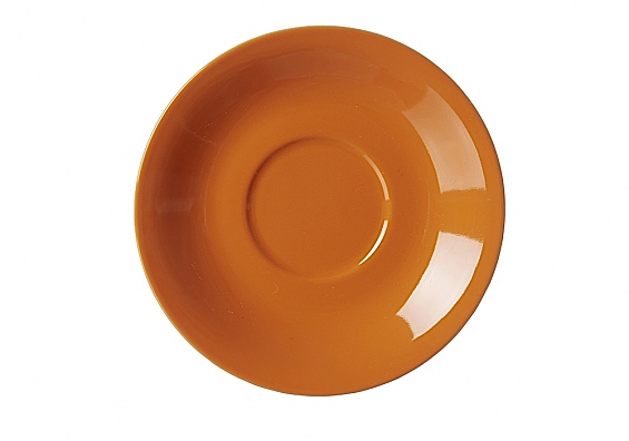 Jumbo-Untertasse Doppio orange
