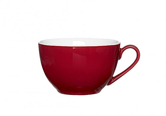 Kaffeetasse Doppio rot