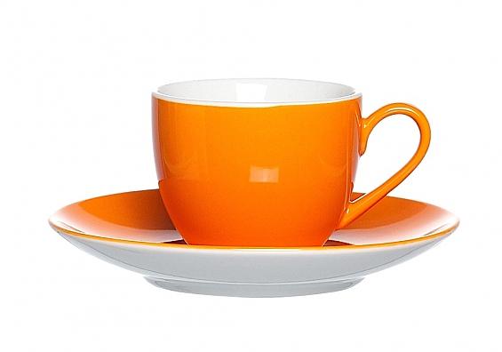 Espressotasse Doppio orange