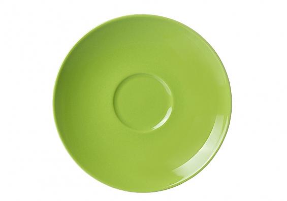 Untertasse Doppio grün