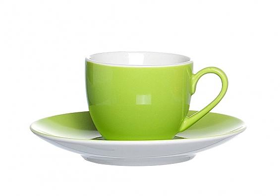 Espressotasse Doppio grün