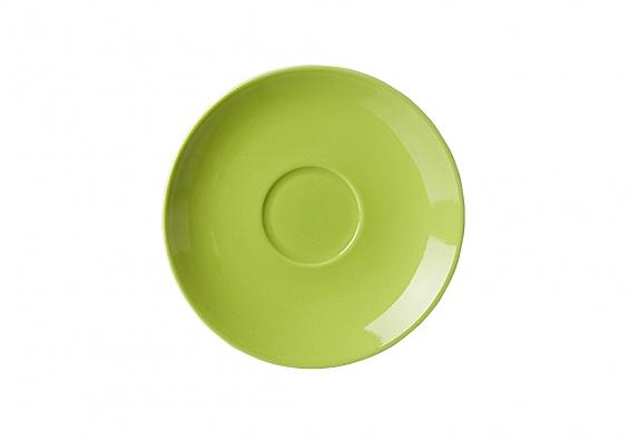 Espresso-Untertasse Doppio grün