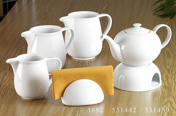 Geschirr-Serie Bianco Milchkrug 1l