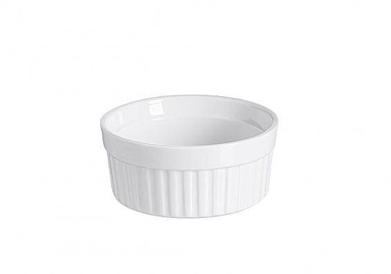 Auflaufformen Bianco rund Durchmesser 11cm