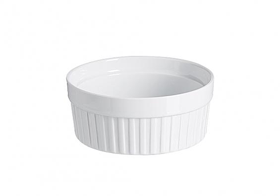 Auflaufformen Bianco rund Durchmesser 15cm