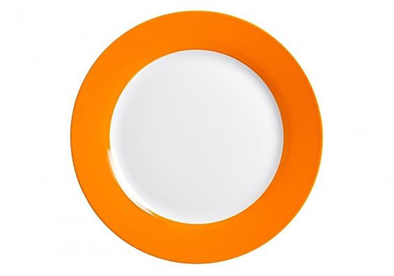 Speiseteller Doppio orange