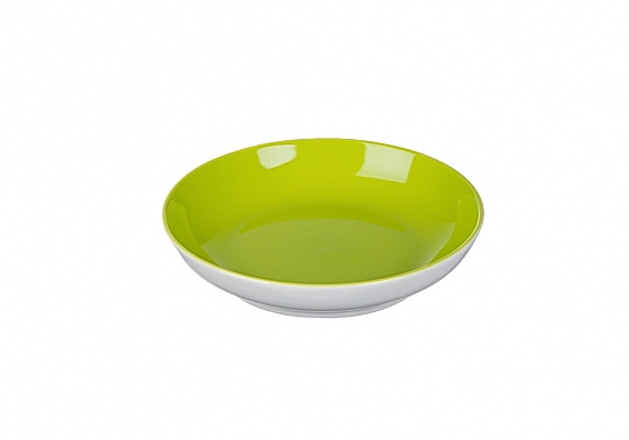 Beilagen-/Salatteller 13cm Doppio grün