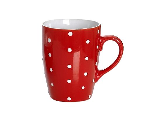 Frühstücksgeschirr Pinto rot Kaffeebecher Pinto rot