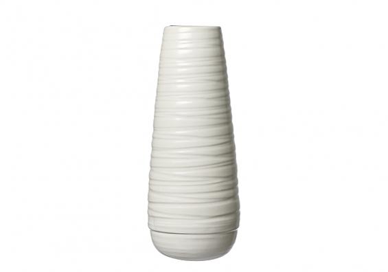 Vasenserie Lina weiß Vase 36cm Lina weiß