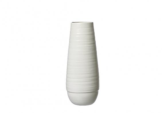 Vasenserie Lina weiß Vase 30cm Lina weiß