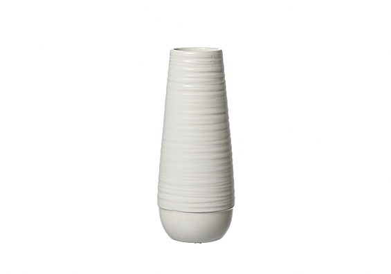 Vasenserie Lina weiß Vase 22cm Lina weiß
