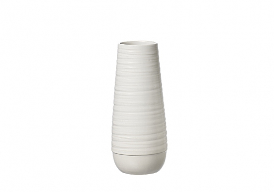 Vasenserie Lina weiß Vase 18cm Lina weiß