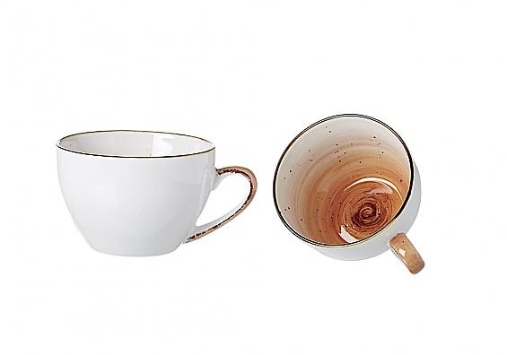 Kaffeetasse Cosmo orange