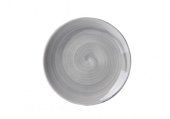 Geschirr-Serie Valencia Beilagenteller grau
