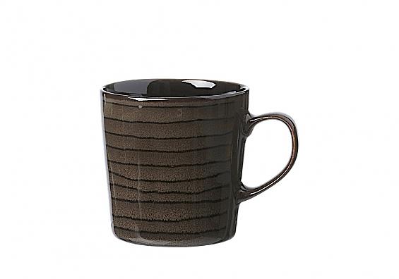 Geschirr-Serie Iowa Kaffeebecher braun