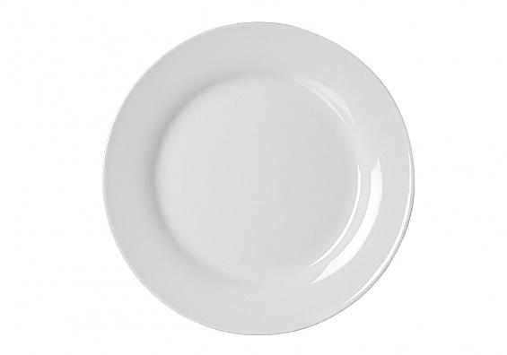Speiseteller flach 24cm Bianco