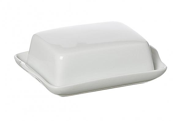 Geschirr-Serie Bianco Butterdose