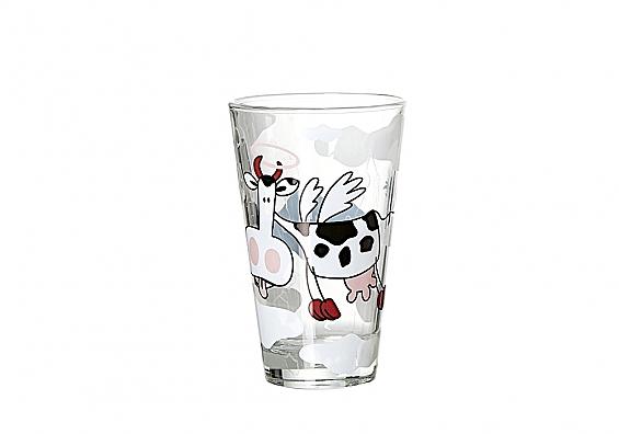 Milchgläser Angel Cow Milchglas hoch