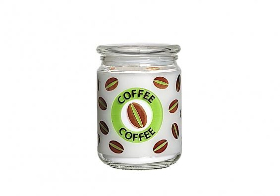 Kaffeedose grün
