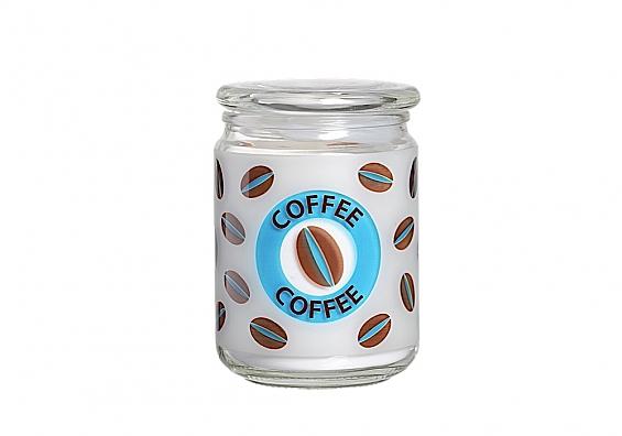 Kaffeedose blau