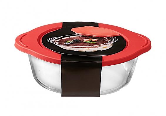 Auflaufform mit Frischhaltedeckel Cucina Auflaufform mit Deckel eckig 2000ml Cucina